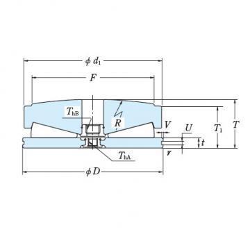 NSK 551TFV01 THRUST BEARINGS For Adjusting Screws