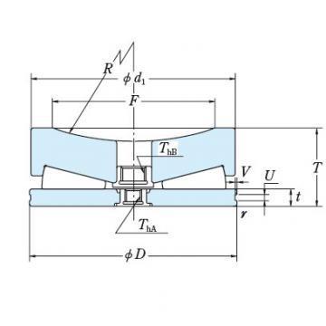 NSK 495TFV01 THRUST BEARINGS For Adjusting Screws