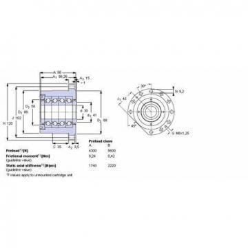 NSK 609TFV01 THRUST BEARINGS For Adjusting Screws