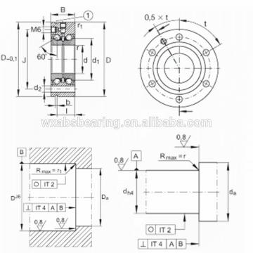 NSK 409TFV01 THRUST BEARINGS For Adjusting Screws