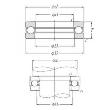 NTN 51168 Thrust Bearings