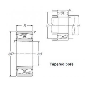 100 mm x 180 mm x 60,3 mm  NTN 23220BK Spherical Roller Bearings