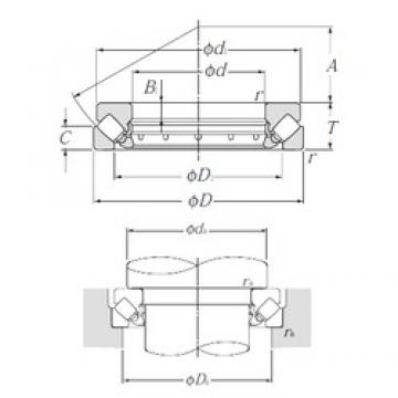 NTN 29480 Thrust Bearings