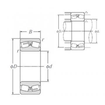 150 mm x 250 mm x 100 mm  NTN 24130B Spherical Roller Bearings
