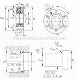 NSK 581TFX02 THRUST BEARINGS For Adjusting Screws