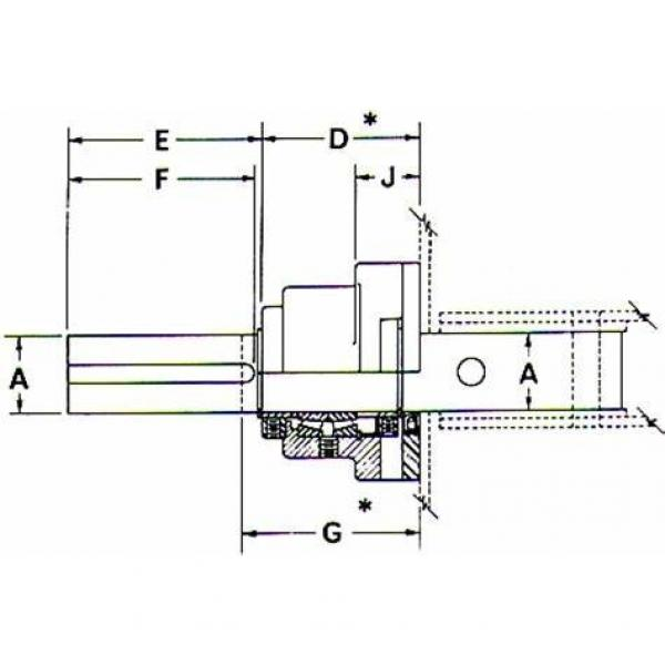 NSK 609TFV01 THRUST BEARINGS For Adjusting Screws #2 image